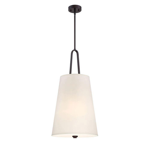 Studio Satin Bronze Three-Light Pendant