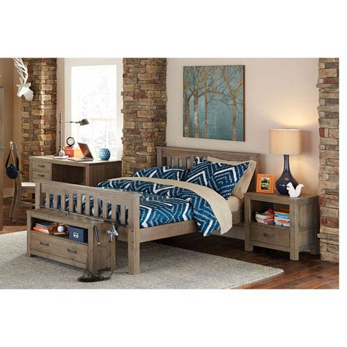 Highlands Driftwood Harper Full Bed