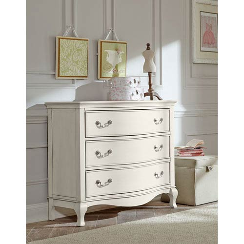 Kensington Antique White 3 Drawer Single Dresser