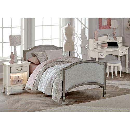 Kensington Antique Silver Victoria Twin Bed