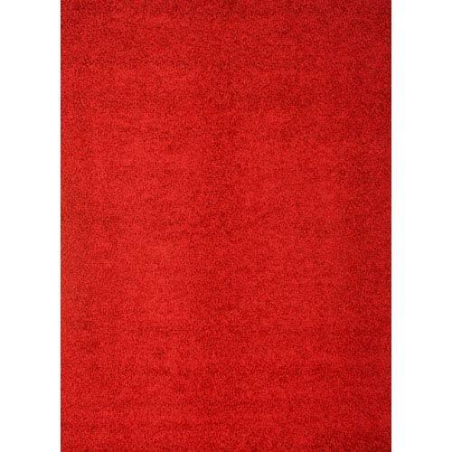Abacasa Domino Red Rectangular: 5 In. x 8 In. Rug