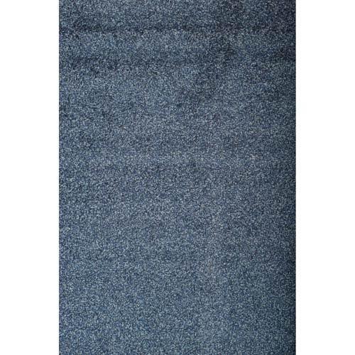 Domino Blue Rectangular: 5 Ft 3 In x 7 Ft 6 In Rug
