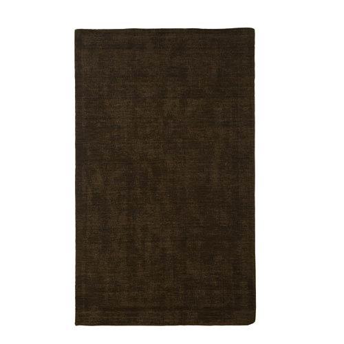 Basics Medium Brown Rectangular: 5 Ft x 8 Ft Rug