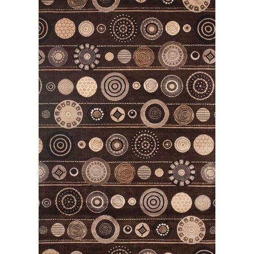 Sonoma Benton Chocolate Rectangular: 7 Ft. 10 In. x 11 Ft. 2 In. Rug