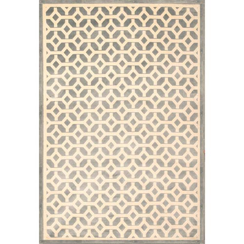 Abacasa Sonoma Duoro Lt. Blue Rectangular: 5 Ft. 3 In. x 7 Ft. 6 In. Rug