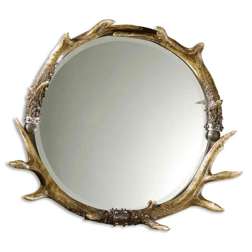 Stag Horn Mirror