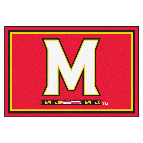 University of Maryland Rectangular: 5 ft. x 8 ft. Rug