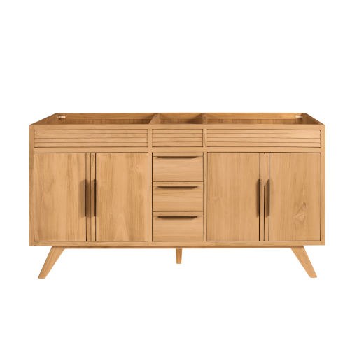 Taylor Natural Teak 60-Inch Bathroom vanity