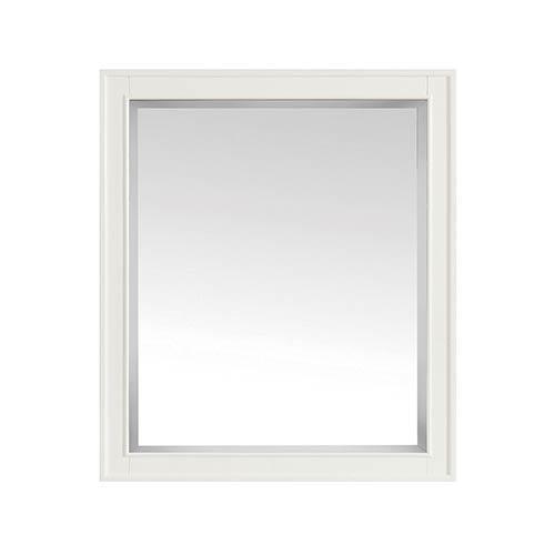 Arlington 28 inch Mirror in White finish
