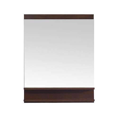 Azzuri CityLoft 28 inch Mirror in Light Espresso finish