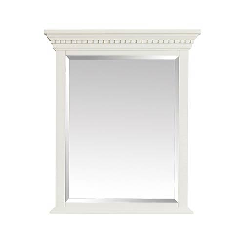 Hastings 28 inch Mirror in French White finish
