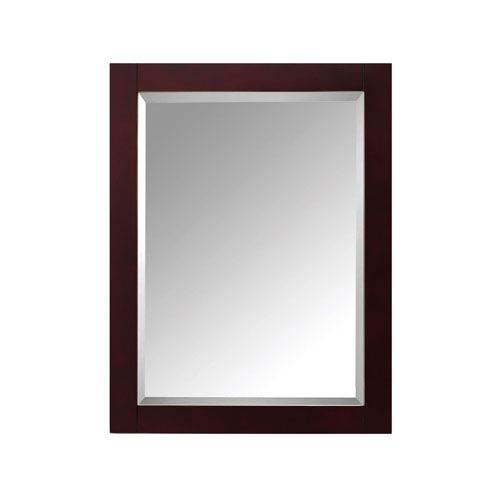 Modero Espresso 24-Inch Mirror