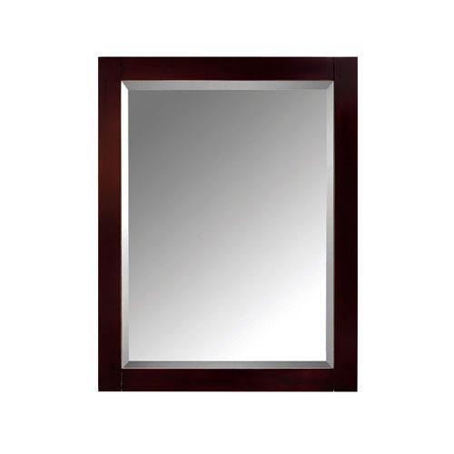 Modero Espresso 24-Inch Mirror Cabinet