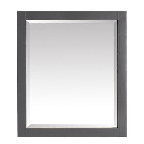 Twilight Gray 28-Inch Mirror