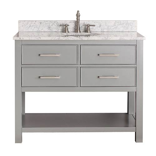 Bathroom Vanities On SALE Bellacor - 42 gray bathroom vanity