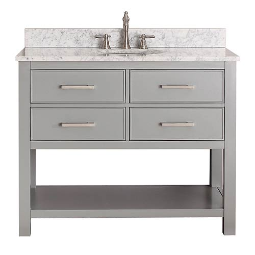 Avanity Brooks Chilled Gray 42-Inch Vanity Only