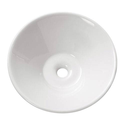 Avanity Above counter 16.5-Inch White Round Vitreous China Sink