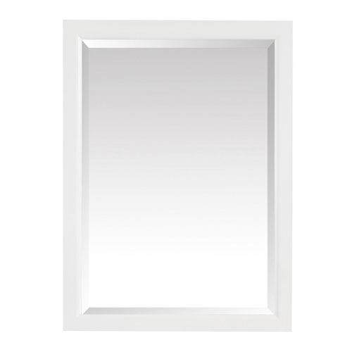 Emma White 22-Inch Mirror Cabinet