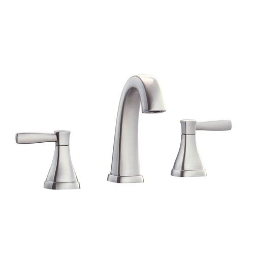 Avanity Clarice Brushed Nickel 8 Inch Widespread Bath Faucet