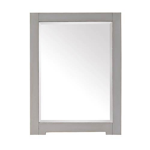 Avanity Kelly Grayish Blue 24-Inch Beveled Edge Rectangular Mirror