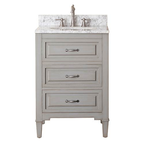 Avanity Kelly Grayish Blue 24-Inch Vanity Only