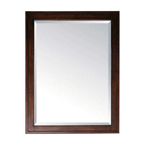 Madison Tobacco 28 x 32 Rectangular Mirror