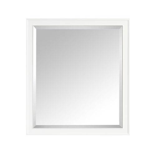 Madison White 36-Inch Mirror