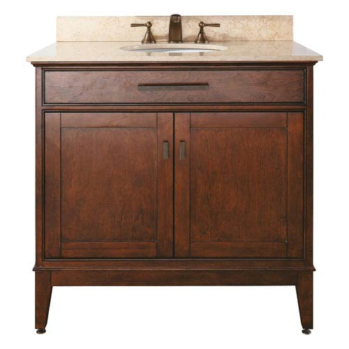 Madison 36-Inch Vanity Only in Tobacco Finish