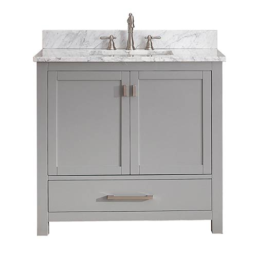 Modero Chilled Gray 36-Inch Vanity Only