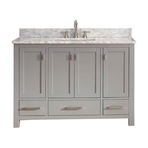 Modero Chilled Gray 48-Inch Vanity Only