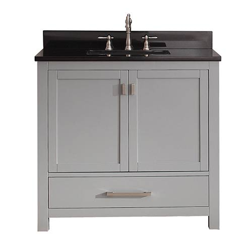 Inch White Bathroom Vanity Bellacor - 36 inch black bathroom vanity
