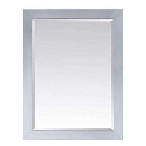 Modero 28 x 32-Inch Mirror in White Finish
