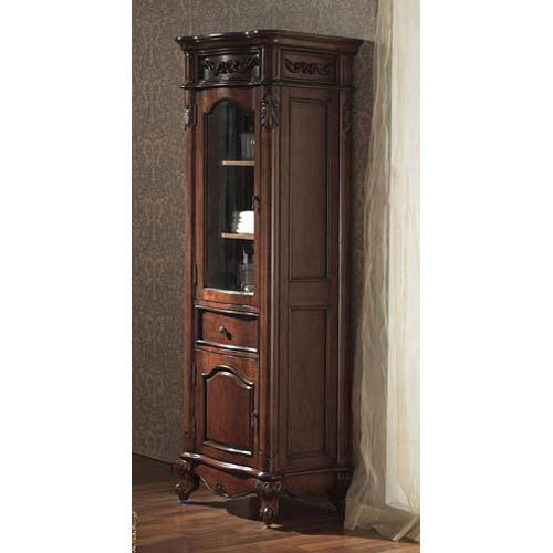 Provence 24-Inch Antique Cherry Linen Tower