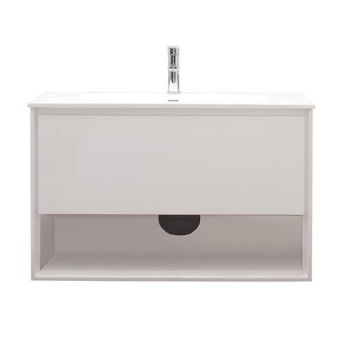 Avanity Sonoma White 39-Inch Vanity Combo