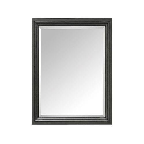 Thompson Charcoal Glaze 24-Inch Mirror