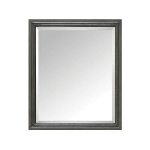 Thompson Charcoal Glaze 28-Inch Mirror