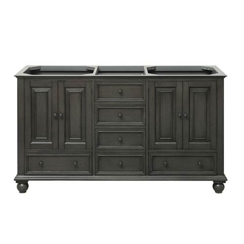 Thompson Charcoal Glaze 60 Inch Vanity Only