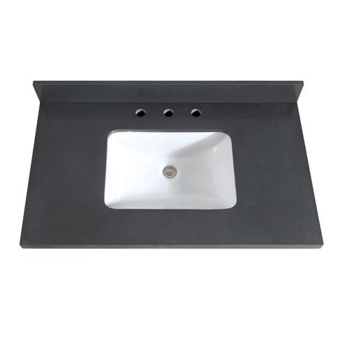 Avanity 37-Inch Gray Quartz Top with Sink