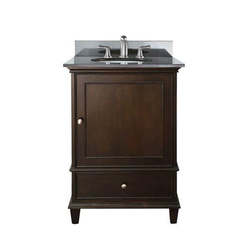 Inch Wood Vanity Bellacor - 24 inch black bathroom vanity