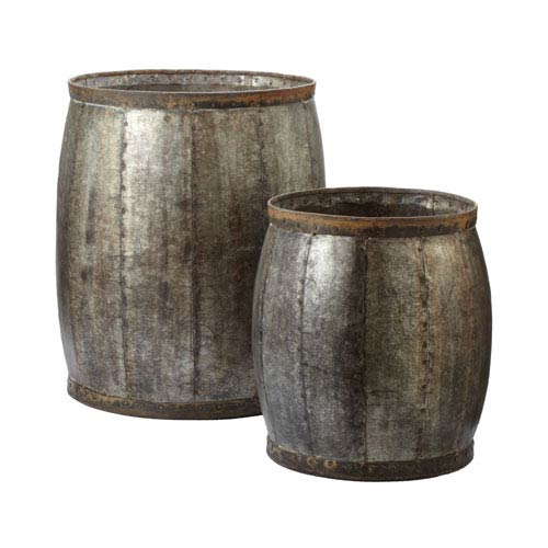 Lazy Susan Set of Two Fortress Drums