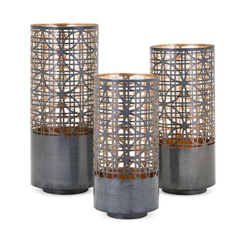 Modi Pierced Lanterns, Set of 3