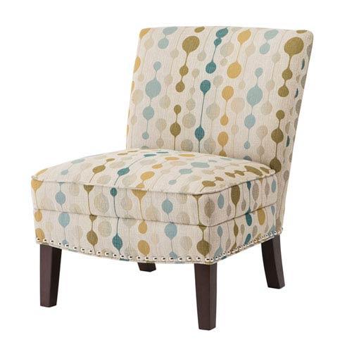 Hayden Multicolor Slipper Accent Chair