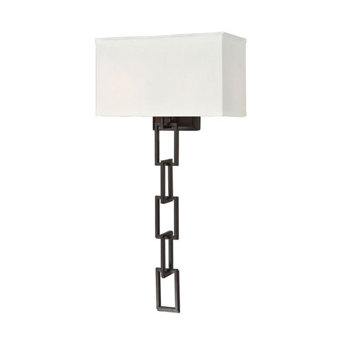 Anchorage Oiled Bronze Two-Light Wall Sconce