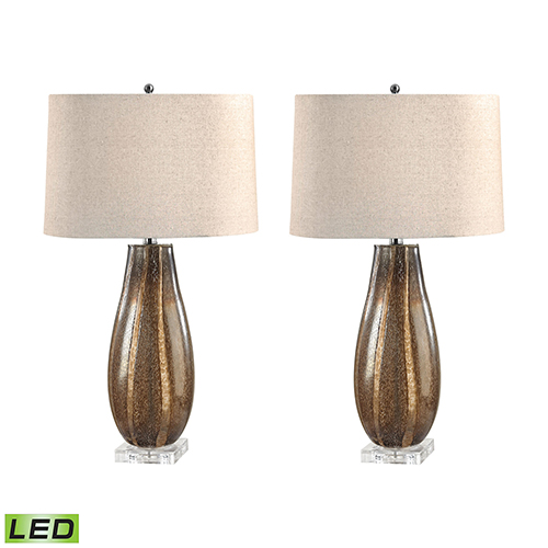 Dimond Sand LED Table Lamp (Set of Two)