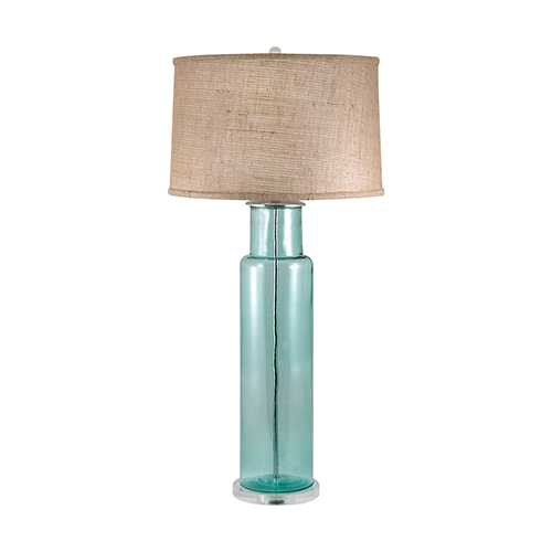 recycled glass lamp bellacor