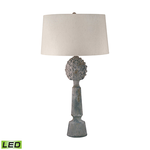 Matte Grey LED Table Lamp