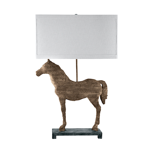 Composite Natural One-Light Table Lamp