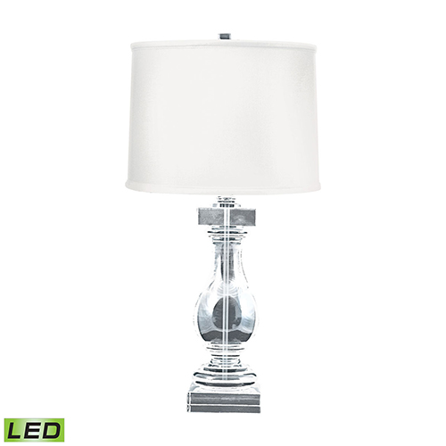 Dimond Crystal Clear LED Table Lamp