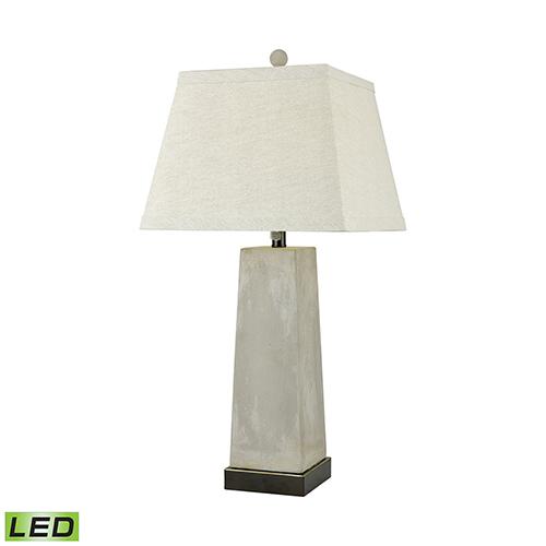 Dimond Concrete Blond Natural Concrete LED Table Lamp