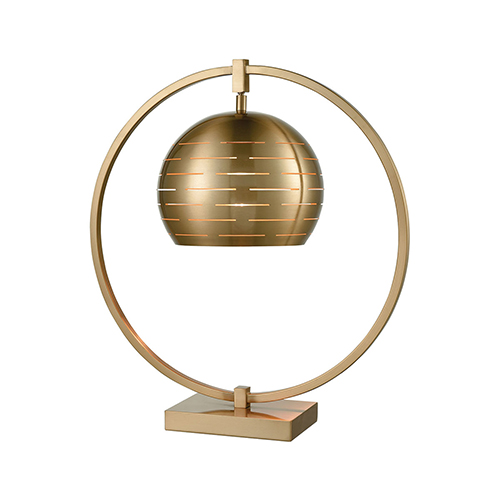 Dimond Atmospheric Circulation Cafe Bronze One-Light Table Lamp